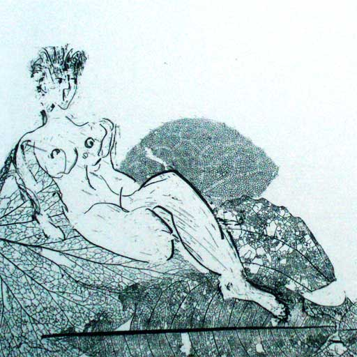 the power of imagination drawings odalisques